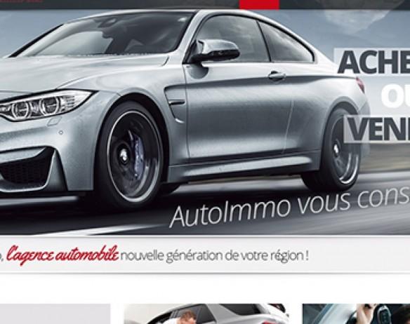 AutoImmo – Agence automobile